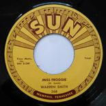 "45Re ✦ WARREN SMITH ✦ ""Miss Froggie / So Long I'm Gone"" Classic Rockabilly Bop ♫"